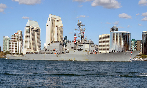The U.S. Navy announced today that the ballistic missile defense (BMD)-capable guided missile destroyer USS Benfold (DDG 65) and USS Milius (DDG 69) will become part of the Forward Deployed Naval Forces (FDNF) based at Commander Fleet Activities Yokosuka, Japan.